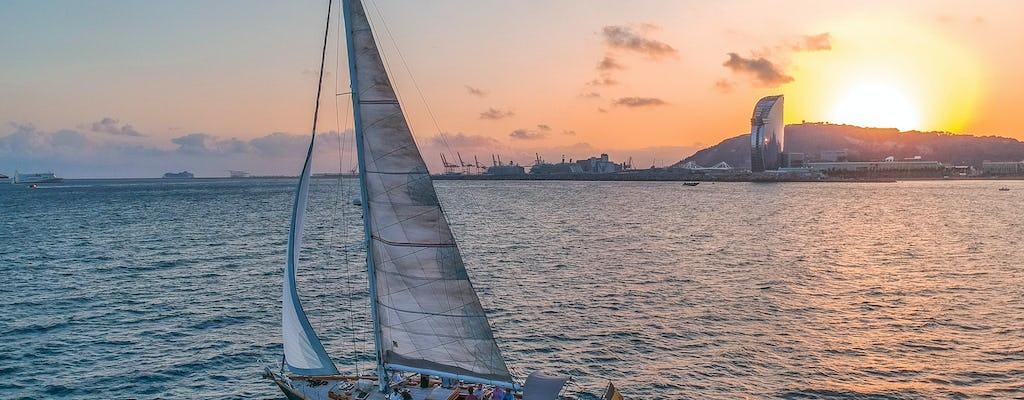 Barcelona sunset sailing tour