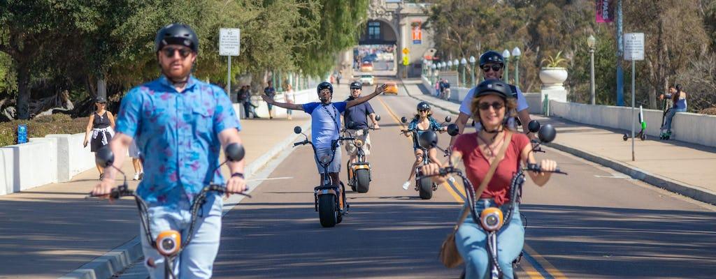 Passeio de scooter elétrico de 2 horas por Balboa e centro de San Diego