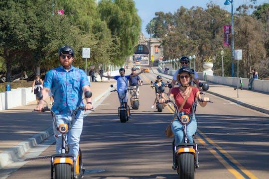Visite de 2 heures en scooter électrique de Balboa et du centre-ville de San Diego