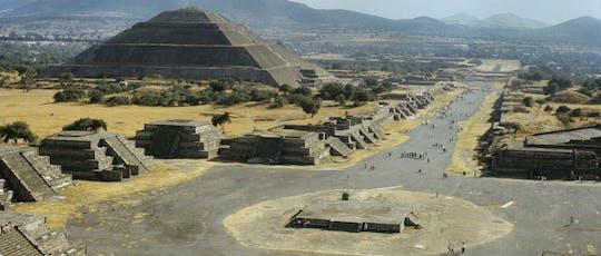 Centro storico di Città del Messico e Teotihuacán Piramyds con degustazione di bevande