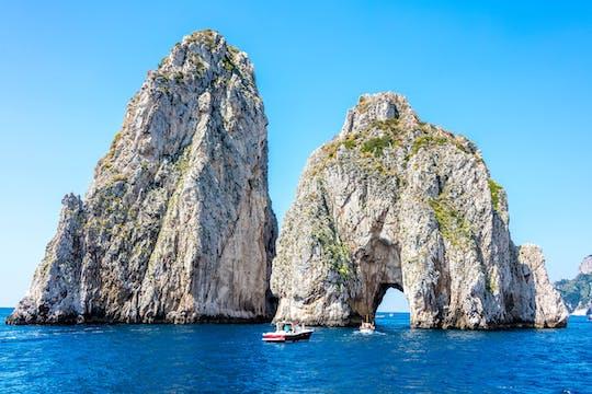 Capri Bootstour ab Sorrent