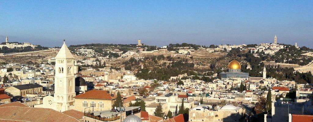 Tour privato del patrimonio cristiano di Gerusalemme di un'intera giornata da Tel Aviv