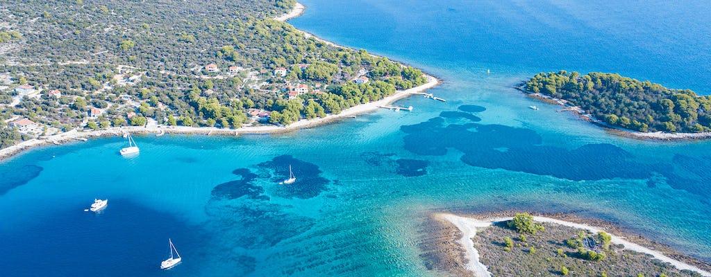 Tour privato alla Laguna Blu e 3 isole da Trogir