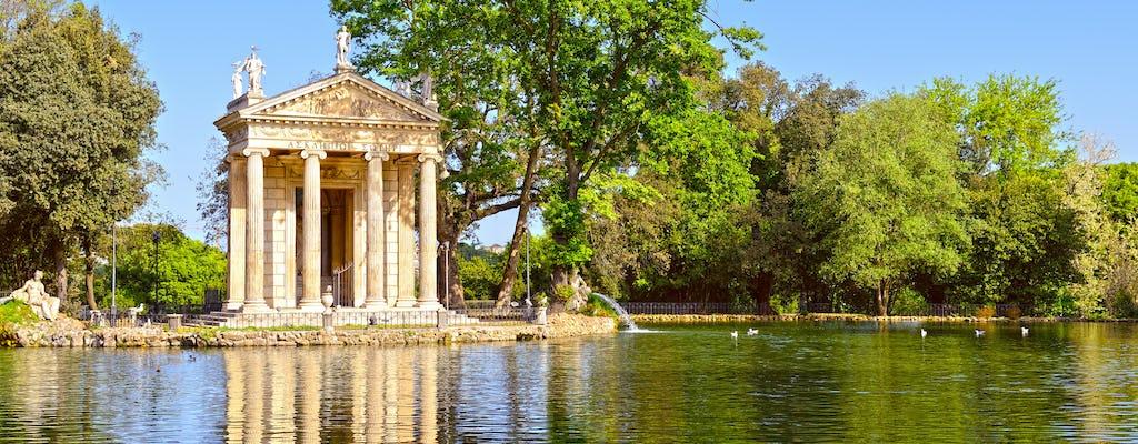 Villa Borghese hardlooptocht