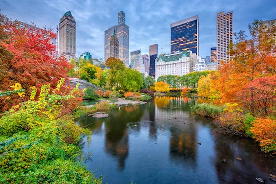 Private Central Park walking tour