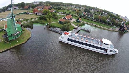 Wycieczka łodzią do Zaanse Schans Windmill Village z Amsterdamu