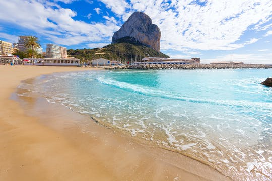 Sail and swimming boat trip from Calpe