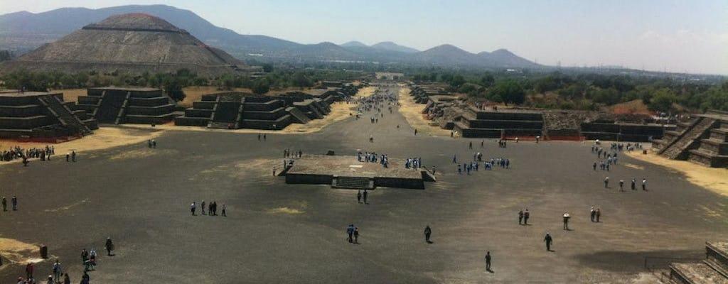 Teotihuacán und Basilika von Guadalupe mit optionalem Mittagessen
