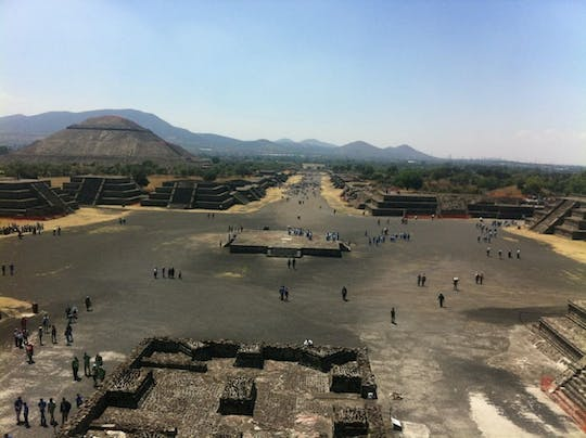 Teotihuacán and Basilica of Guadalupe with optional lunch