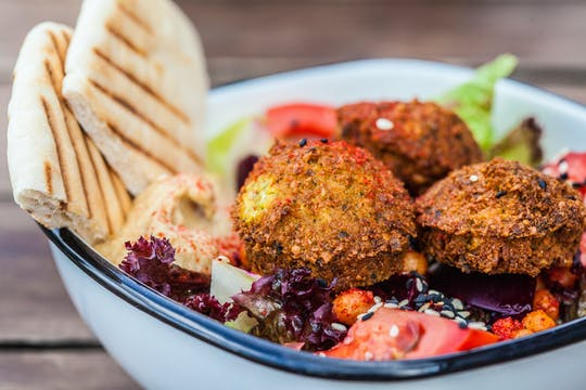 Tour culinário de rua israelense