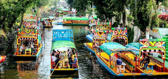 Mexico city and Xochimilco guided tour