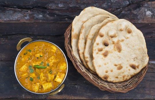 Vegetarian Indian cooking online experience
