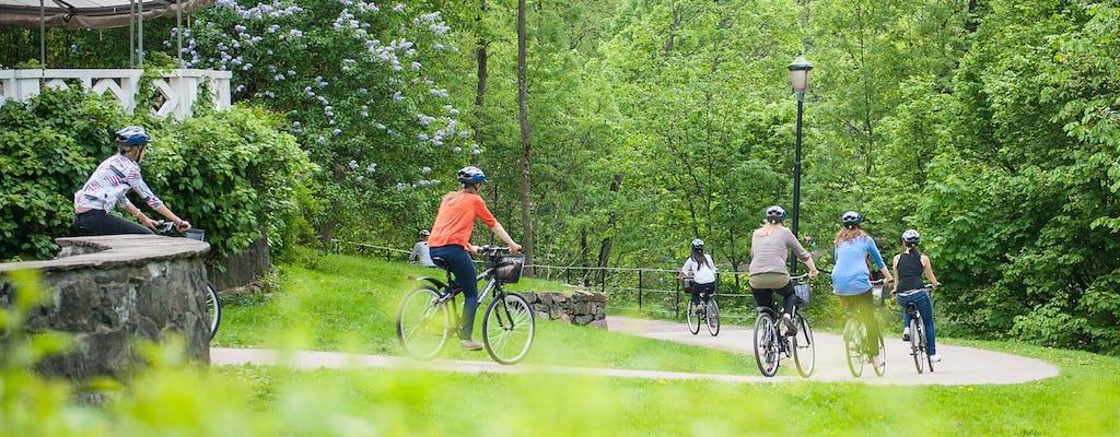 Visite à vélo des points forts d'Oslo