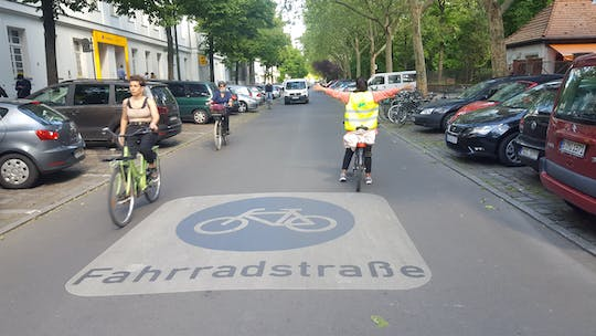 Sustainable Berlin of the future bike tour