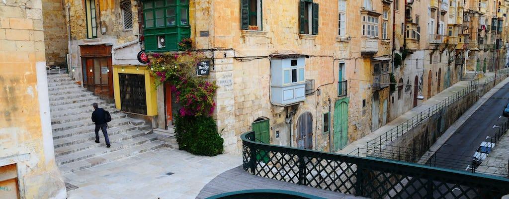 Valletta Walking Tour with Malta Experience