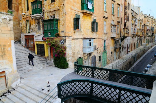 Valletta Walking Tour with Malta Experience