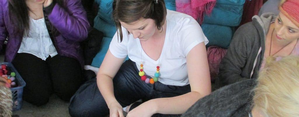 Atelier souvenir à Katmandou avec une entreprise sociale