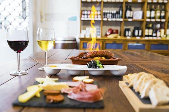 Ruta a pie por la comida y el vino de Lisboa