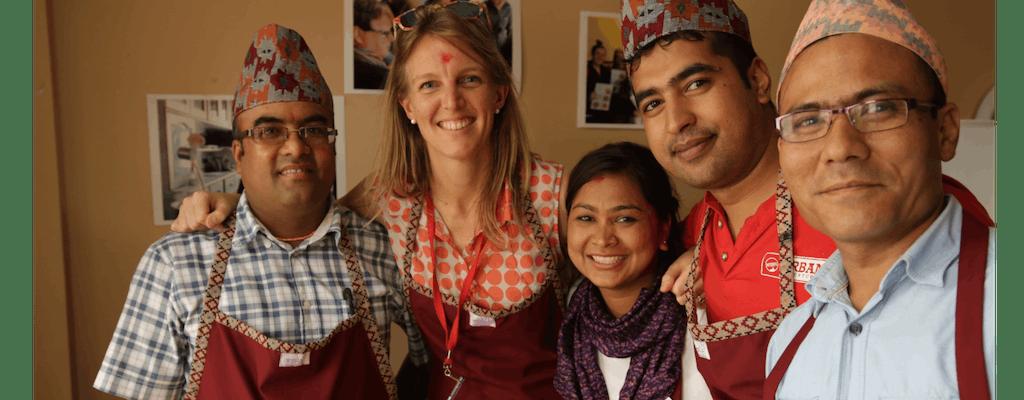 Кулинарный мастер-класс в Катманду социального предприятия