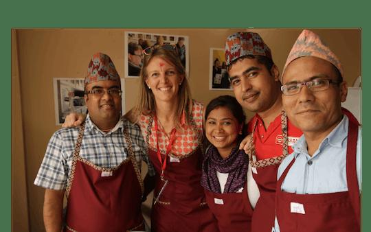 Kookles in Kathmandu met een sociale onderneming