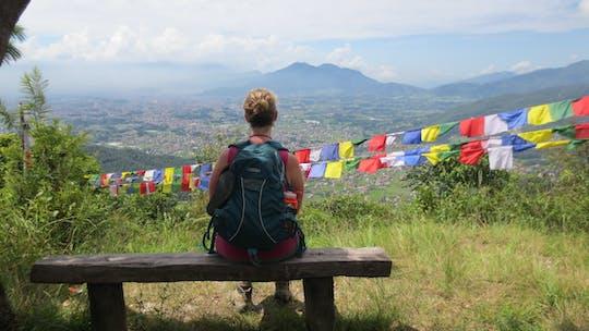 Wandeling van een hele dag naar de Kathmandu-vallei