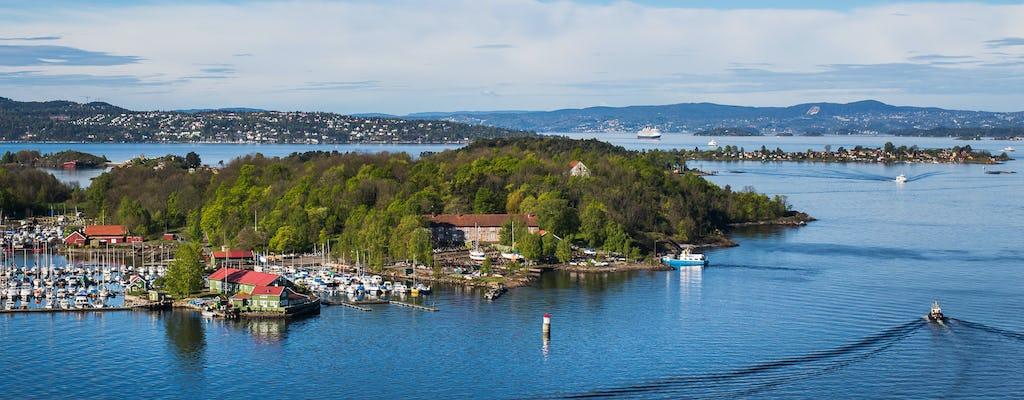 Experiencia privada de isla en isla en el fiordo de Oslo