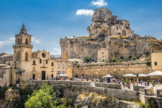 Matera European Capital of Culture 2019 from North Puglia