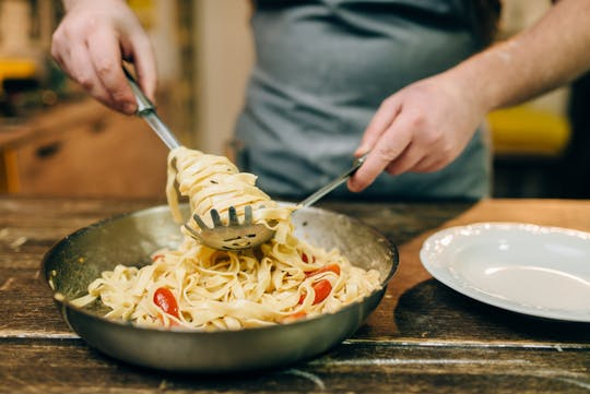 Traditional homemade Pasta cooking class in Rome