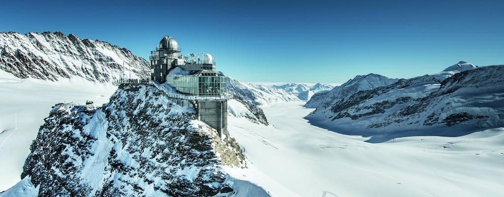 Visita guiada privada a Jungfraujoch, o Topo da Europa a partir de Basileia