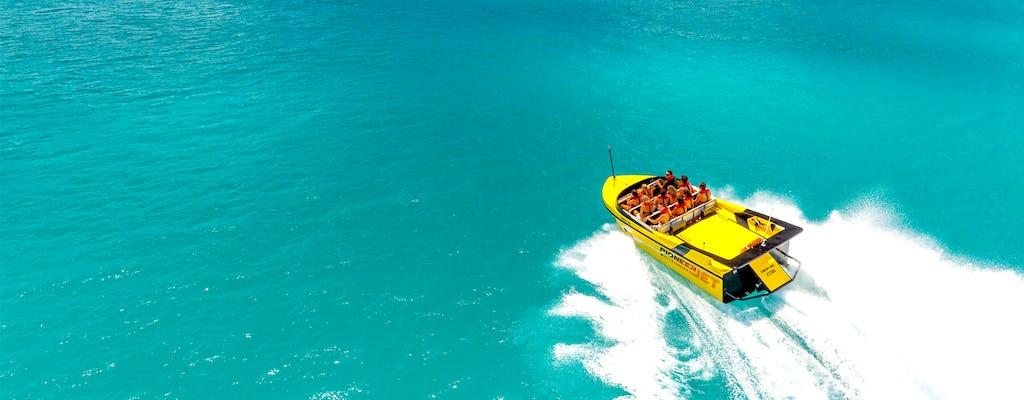 Połączenie łodzi odrzutowej i łodzi bananowej