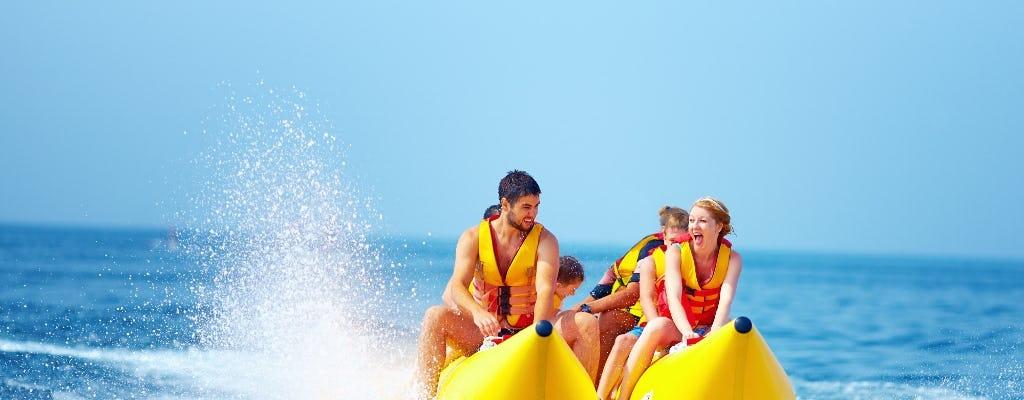 Опыт катания на лодке-банане Эрли-Бич
