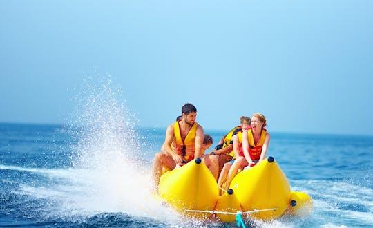 Experiência de passeio de banana boat em Airlie Beach