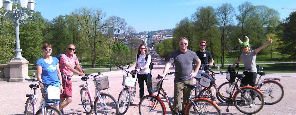 Private 3-hour bike tour in Oslo