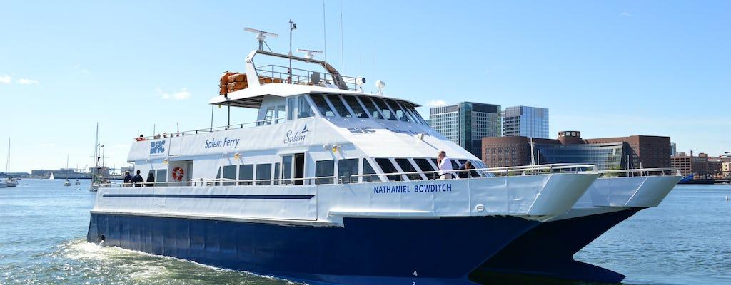 Traslado de balsa de Salem para Boston com opção de ida e volta