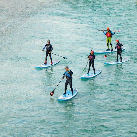 Soca Downriver stand up paddleboard приключенческий тур