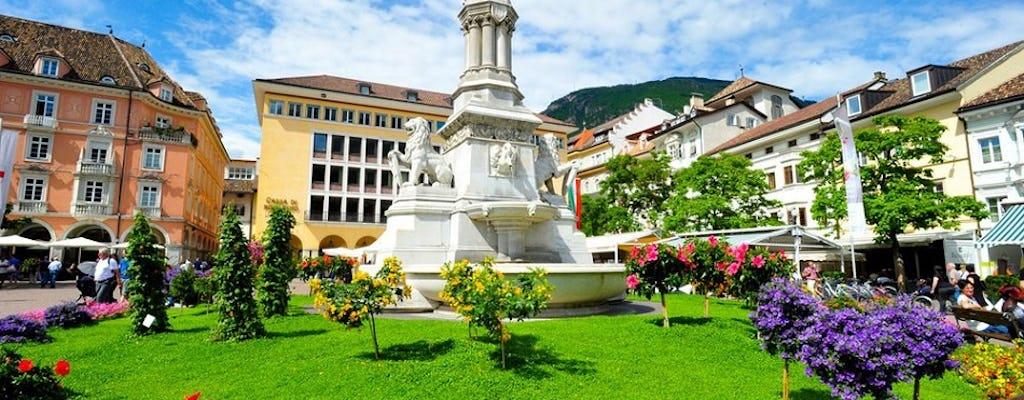 Tour privado a pie por el centro histórico de la ciudad de Bolzano