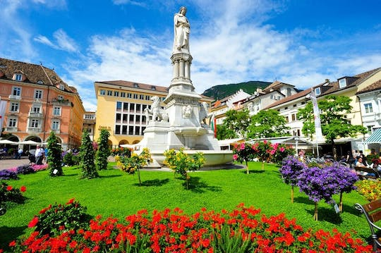 Bolzano historical city center private walking tour