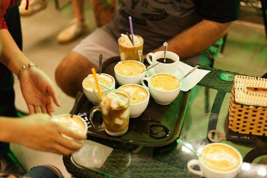 Hanoi street food guided night tour