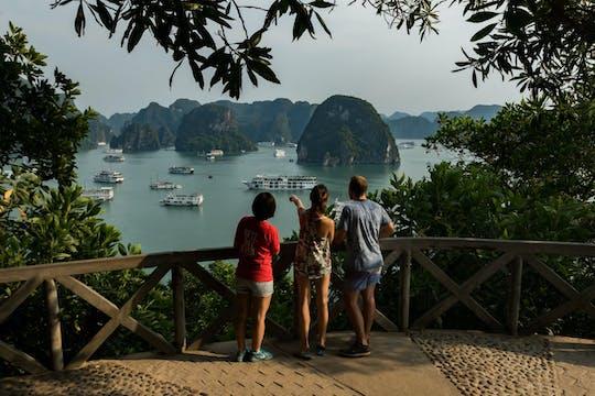 Tour guidato di un'intera giornata nella baia di Halong da Hanoi