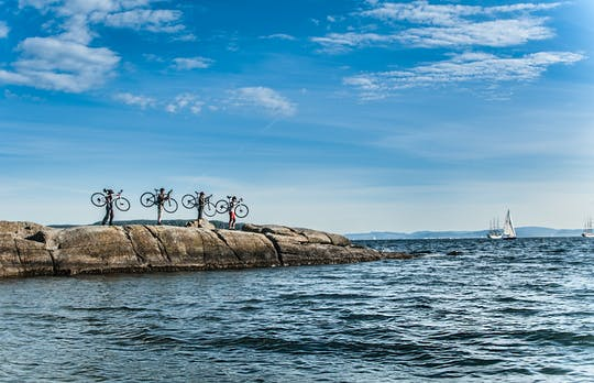 Private 4-hour bike tour in Oslo