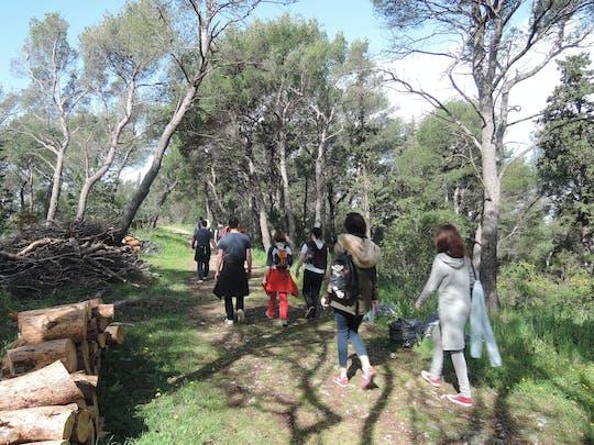 Wandeltocht door de heuvel Marjan in Split
