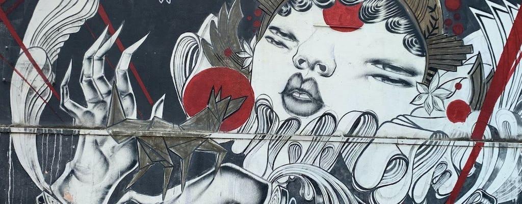 Tour virtual da arte urbana de Roma