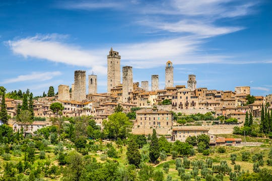 Siena, San Gimignano and Pisa small-group tour with lunch and wine tasting