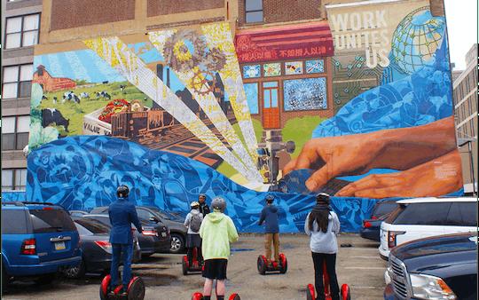 Visite de 2 heures des peintures murales de Philadelphie en Segway ™