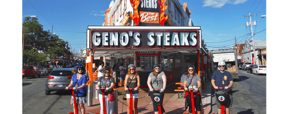 Philly Cheesesteak 2 ore Segway ™ tour