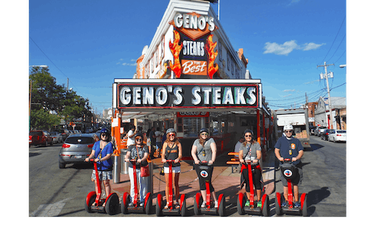 Philly Cheesesteak 2-hour Segway™ tour