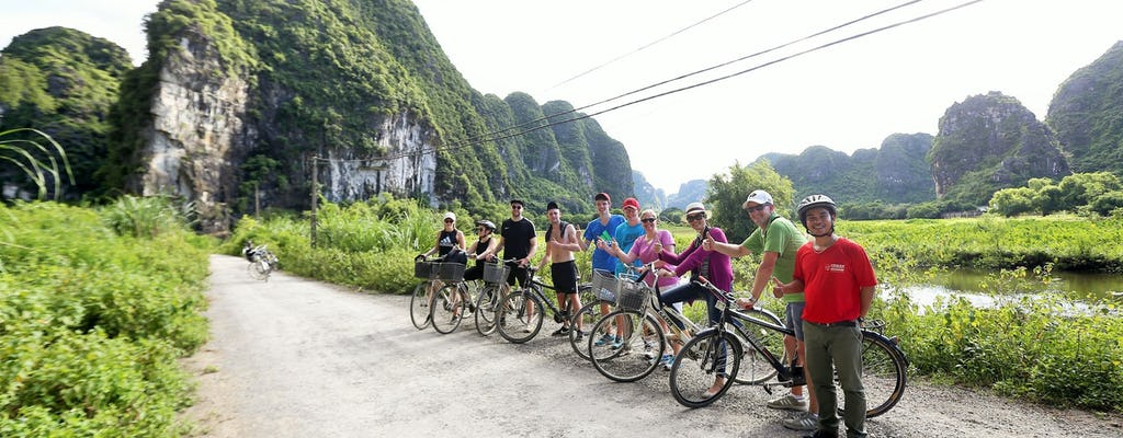 Visita guiada de um dia inteiro à província de Ninh Binh saindo de Hanói