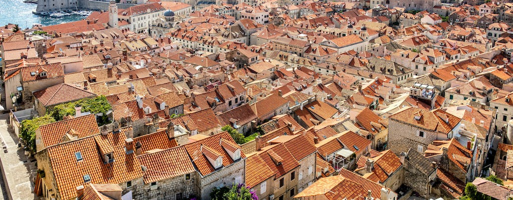 Dubrovnik Old Town Small Group Tour with Sunset