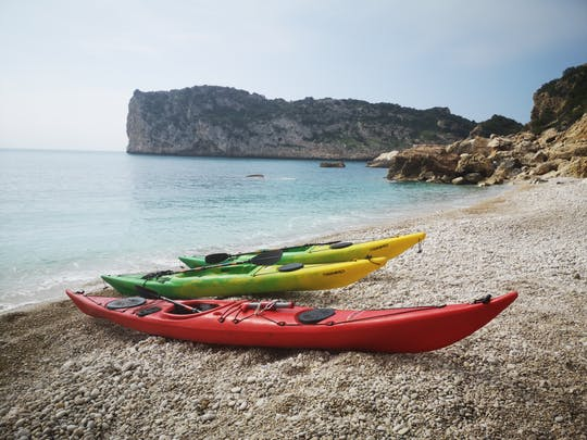 Excursion en kayak sur l'île de Portixol