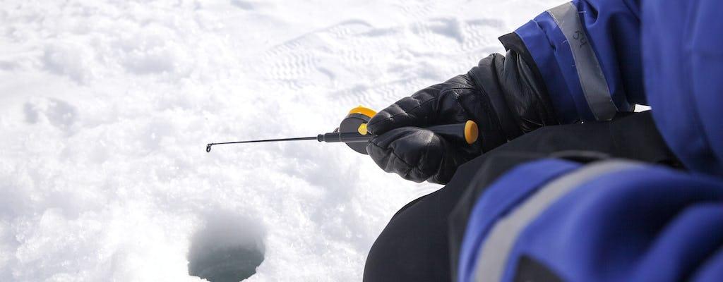 Safari na skuterach śnieżnych z wędkowaniem pod lodem